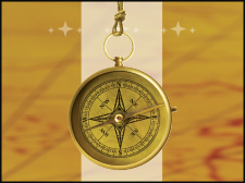 Image of a compass for WAI branding.